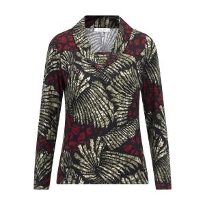 Shirt Tempa Bordeaux Groen Dessin