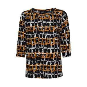 Shirt Basalt Honing Vierkantjes