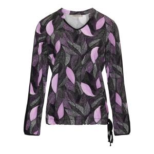 Blouson Maze Violet Zwart Veertje