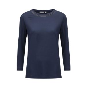 Shirt Nachtblau Silberline