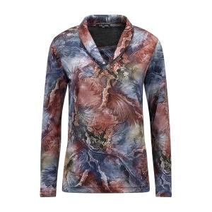 Shirt Bordeaux Marine Dessin
