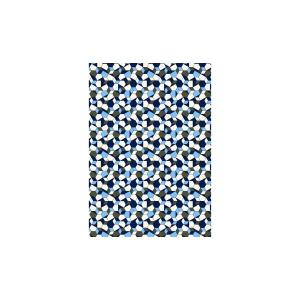 Overhemd Blauw Blue Grafisch