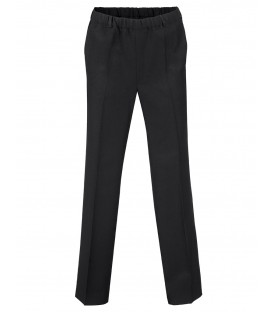 Herenpantalon Elastiek Zwart Winter