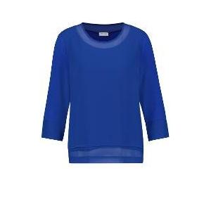 Shirt Kobalt Voile