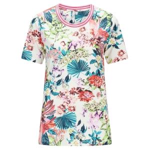 Shirt Roze-Groen Bloemprint