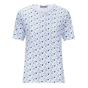 Shirt Marine-Aqua Cirkel