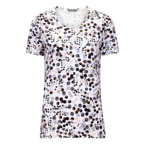 Shirt Mocca-Beige Nopjes