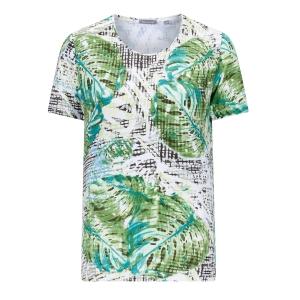 Shirt Smaragd-Lime Blad