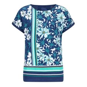 Shirt Marine-Ocean Blue Bloem