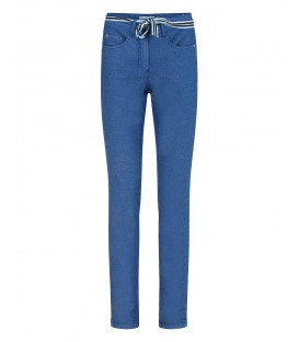 Damespantalon Denim Blauw