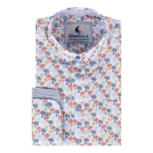 Overhemd Brique Zand-Bloem LM
