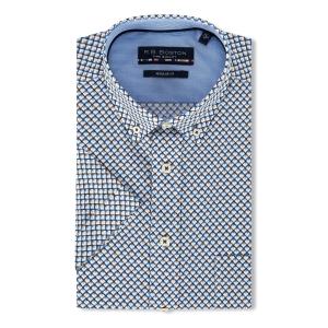 Overhemd Blue Zand-Patroontje KM