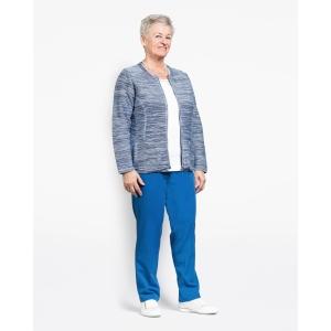 Vest Korenblauw-Blue Breisel