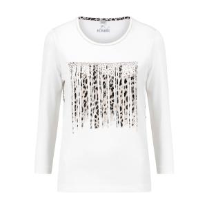 Shirt Off White Bisquit-Panterprint