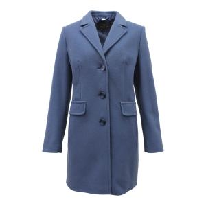 Mantel Midden Blauw