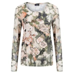 Shirt Zalm Groen-Glitter Brei