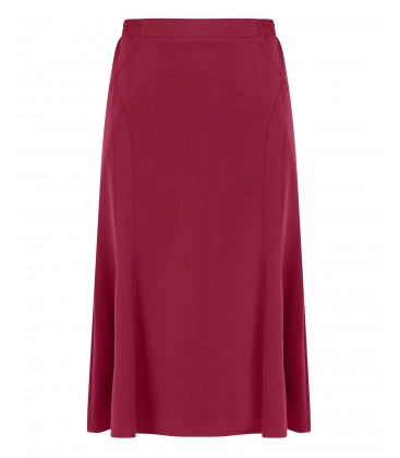 Rok Elastiek Bordeaux