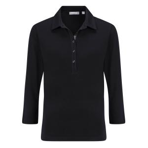 Poloshirt Zwart Pailletjes
