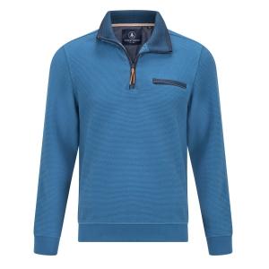 Polosweater Raf-Blauw Rits