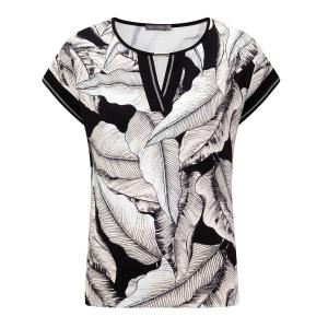 Shirt Zwart Zand-Blad