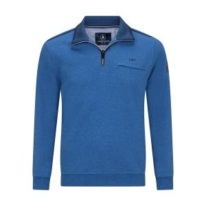 Sweater Jeansblauw-Indigo Melee