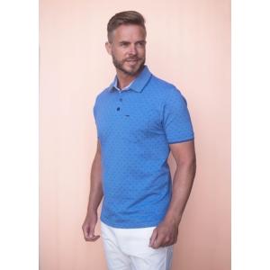 Poloshirt Blue Printje KM