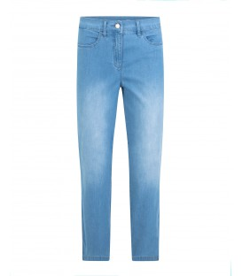 Damespantalon Jeans Licht 7/8