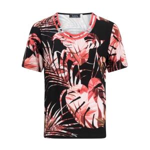 Shirt Zwart Meloen Blad