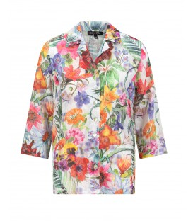 Blouse Multicolour Bloemen