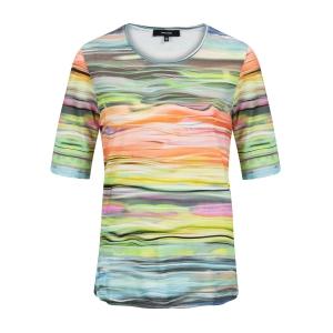 Shirt Multicolor Streep Dessin