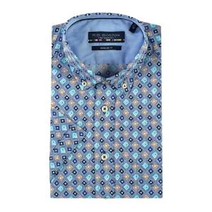 Overhemd Indigo Aqua Wyber KM