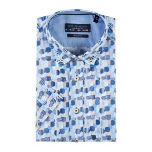 Overhemd Indigo Zand Nop