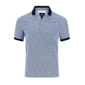 Poloshirt Blue Marine Melee