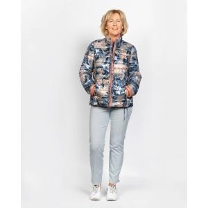 Jas Oud Roze Jeansblauw Reversible