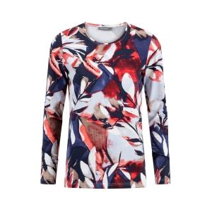 Shirt Rood Kobalt Tak