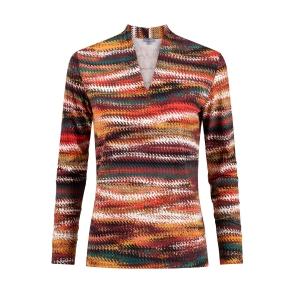 Shirt Terra Zwart Streep Dessin