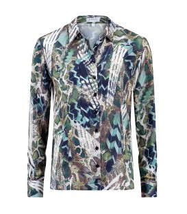 Blouse Jungle Groen