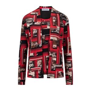 Twinset Zwart Rood Blok