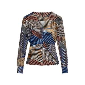 Shirt Kobalt Streep Mix Jeanny