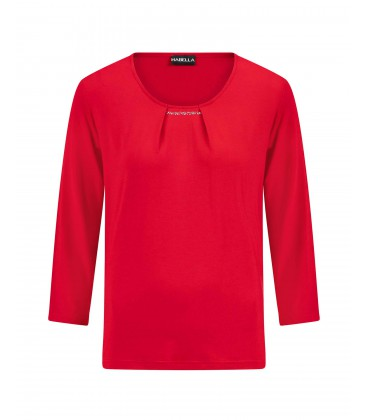 Shirt Rood Strass