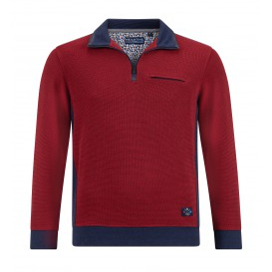 Sweater Wijnrood