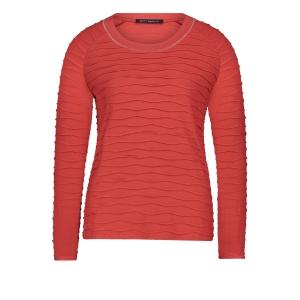 Shirt Donker Oranje Ribbeltje