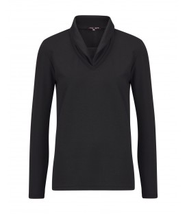 Shirt Zwart Uni Sweat