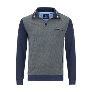 Sweater Groen Marine Pique Ruitje