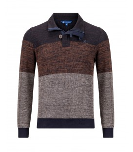 Sweater Tabac Bruin Melee