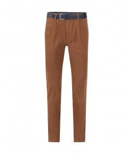 Herenpantalon Tabak Casual