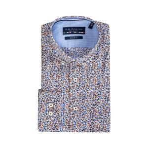 Overhemd Blue Tabac Kwart Rondje