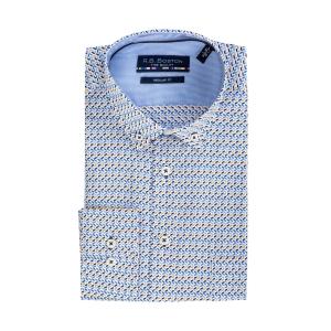 Overhemd Bleu Oker Vtje