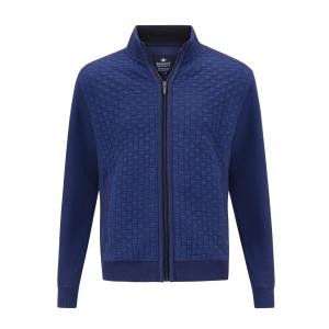 Vest Jeansblauw Structuur