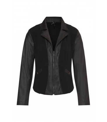Blazer Ottoman Zwart Leatherlook
